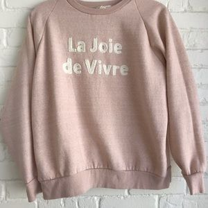 Forever 21 Sweaters - Forever 21 pink sweatshirt medium